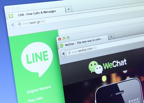 WeChatとLINEの共通点と違いとは?
